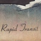 Vintage BART Bay Area Rapid Transit Cloth Book Cover / Patch Collectible San Francisco