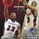 2011 Duquesne Dukes Basketball Gameday Program vs Penn State