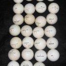 33 Vintage White Golf Balls K-28 Slazenger Titleist Billy Casper Biltmore Dot