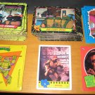 1989 Teenage Mutant Ninja Turtles Card & Sticker Lot Series 1 & 2