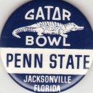 1976 PENN STATE Gator Bowl College Football PinBack Button Pin Jacksonville, FL