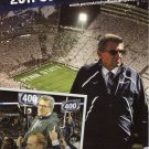 "2011 Penn State Football Joe Paterno Sports Camp Poster 6"" x 11"" New"