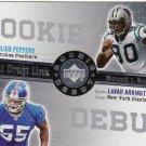 2006 Upper Deck Rookie Debut Draft Link Julius Peppers & Lavar Arrington #DDL-61