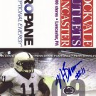 2009 Navorro Bowman Penn State Football Pocket Schedule Autographed PSU 49ers