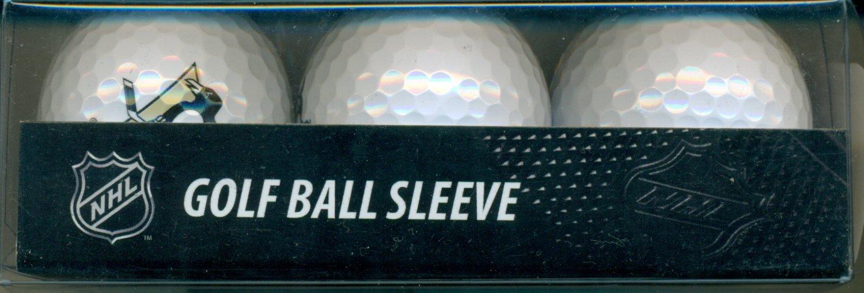 Pittsburgh Penguins Logo Golf Ball Sleeve 3 Balls new Logo New