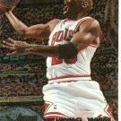 MICHAEL JORDAN 1995-1996 FLEER METAL #13 FOIL White Jersey Bulls