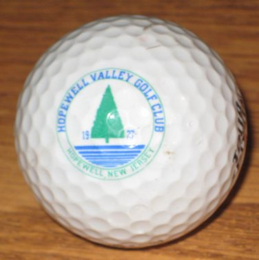 Hopewell Valley Golf Club Spalding Logo Golf Ball Hopewell, NJ