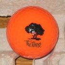 The Forest Golden Ram ORANGE Logo Golf Ball Fort Myers, FL