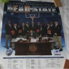 2003-2004 Penn State Men's Basketball Schedule Poster HEAD of STATE