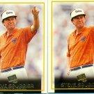 2- 1997 Press Pass Steve Spurrier Coach Florida Gators Football Gold Version
