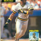 Beckett Baseball Card Monthly magazine ISSUE #68 Nov 1990 Barry Bonds Pirates
