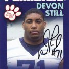 2010 Second Mile DEVON STILL Penn State Autographed Trading Card