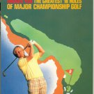Jack Nicklaus Greatest 18 Holes of MAJOR Championship Golf VHS