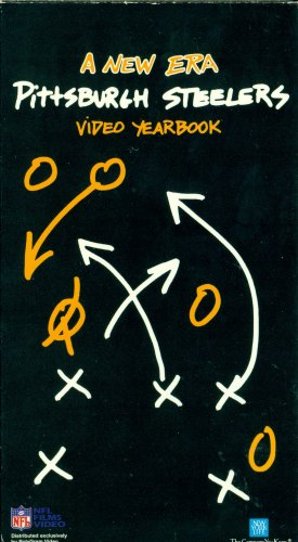 1991 New Era Pittsburgh Steelers Video Yearbook VHS NFL FILMS