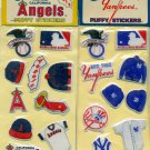 1983 MLB Puffy Stickers Yankees and Angels New Unopened NYY Imperial Toys