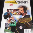 1993 PITTSBURGH STEELERS YEARBOOK COWHER LIPPS FOSTER O'DONNELL HOGE