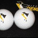 Pittsburgh Penguins Logo Golf Ball Sleeve 2 Balls Old Logo Pose Brand Ball