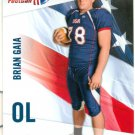 2012 Upper Deck USA Football #6 Brian Gaia PENN STATE