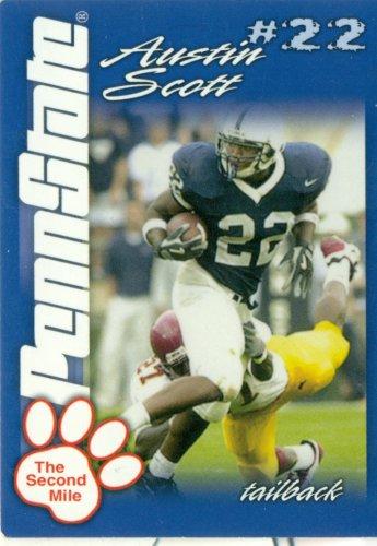 2004 Penn State Second Mile Football Card AUSTIN SCOTT