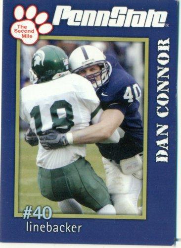2005 Penn State Second Mile Football Card Dan Connor