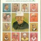 1988 The Memorial Tournament Magazine Program Jack Nicklaus Patty Berg Muirfield