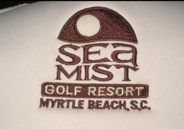 Vintage SEA MIST GOLF RESORT MYRTLE BEACH, SC MESH SNAPBACK HAT Polyester Cap