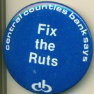 1979 Penn State vs Rutgers Football Button CCB Fix the Ruts Central Counties