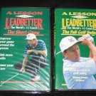 A Lesson with Leadbetter Golf Instructional VHS David Leadbetter 2 Volumes