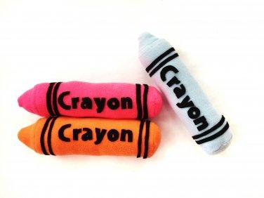 Toy Pattern, Plush Crayons Sewing Pattern