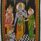 India Hindu Rama Sita Hanuman RAMAYANA New Wall Hanging