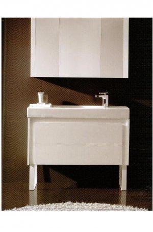 *Royo Bath LU2 Contemporary Wallmounted Vanity w/ Medicine Cabinet