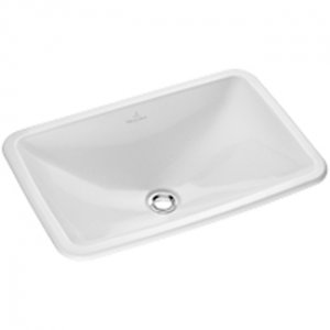 *Villeroy and Boch Loops and Friends Drop -in washbasin 6145-10-R1