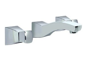 *Villeroy & Boch Wall-Mounted Faucet w/ square handles