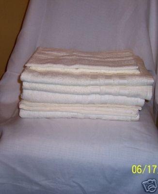 6 PC BELLINO BATHROOM TOWEL SET, 100% EGYPTIAN COTTON