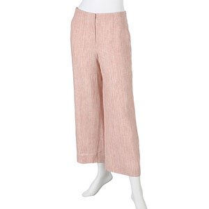 WOMENS 100% LINEN CROPPED PANTS by DKNY, RET $145, SZ 4