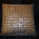 Kazana Silver Throw  Pillow Cover