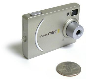 Mustek Gsmart Mini 3 Tiny Hi-Res Digital Camera