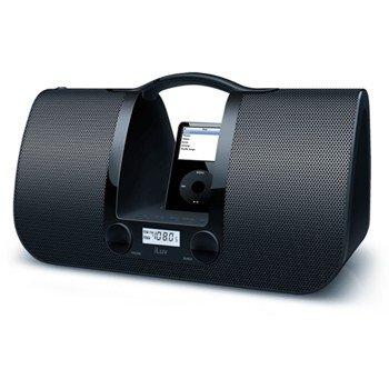 JWIN I552-WHT ILUV IPOD DOCK BLACK