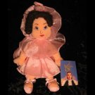 Wizard of Oz 10 in Plush Beanie Ballerina Munchkin Girl Doll - Warner Brothers