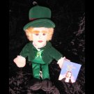 Wizard of Oz 11 in Plush Beanie Munchkin Mayor Doll - Warner Brothers
