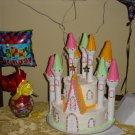 Birthday Castle Cake by Dana