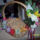 flower girl basket hawaiian theme
