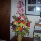 tall floral arrangement