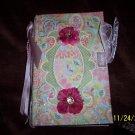 6x8 floral print album