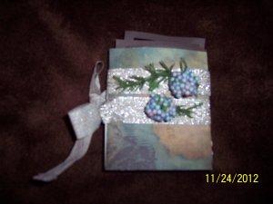 blue grey map album