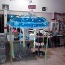 baby shower umbrella blue