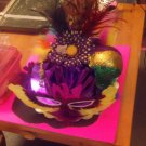 Mardi Gras party centerpiece