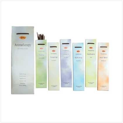 Aromatherapy Incense Sticks 20 sticks plus holder