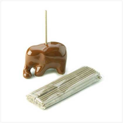 Elephant holder with incense