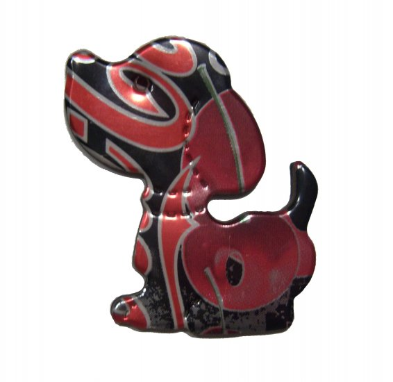 Cips Cherry Coke Zero Dog Puppy Magnet - Recycled Can